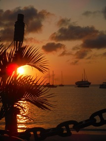 Sunset . . . from Plantation Bar