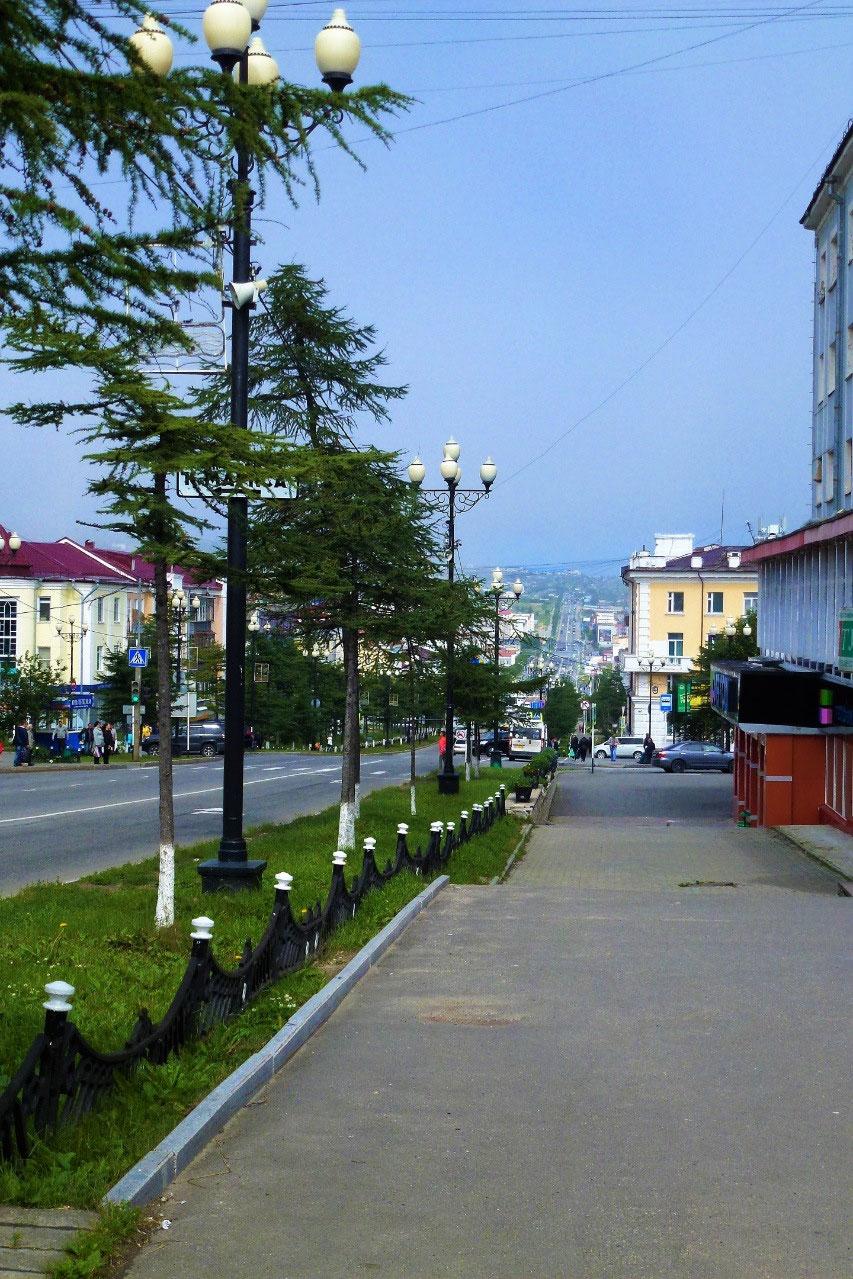 Lenin Street in Magadan is the longest in the world