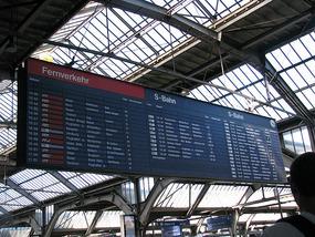 Train Station Board