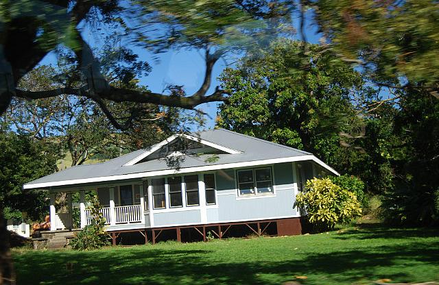 Typical house - Island of Hawaii
