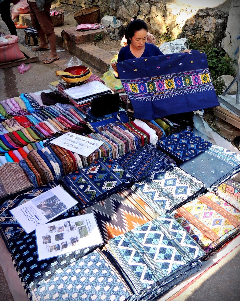 Morning market - Luang Prabang Lao PDR