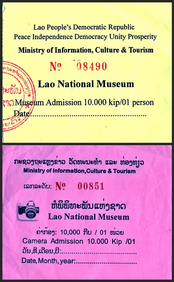 Lao National Museum - Vientiane  Lao PDR