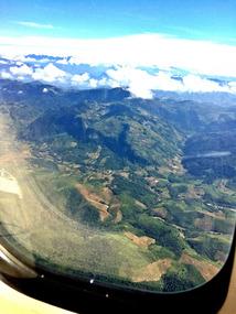 Flight leaving Luang Prabang for Bangkok