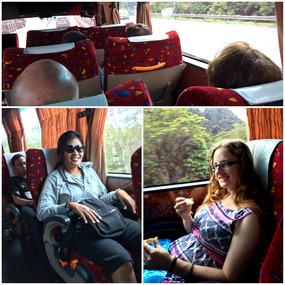Tai & Alex - Public Bus to Kuala Lumpur Malaysia