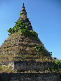 That Dum Stupa  - Vientiane Lao PDR