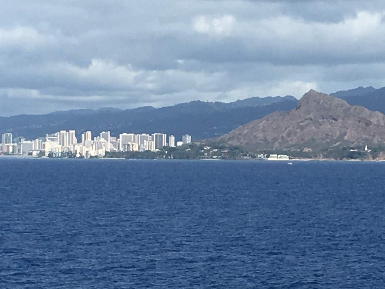 Approaching Honolulu