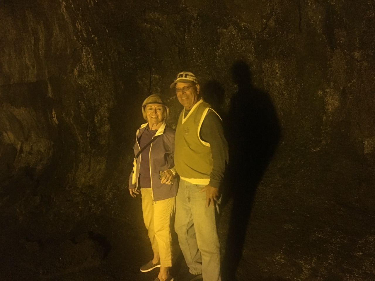 In lava Tube