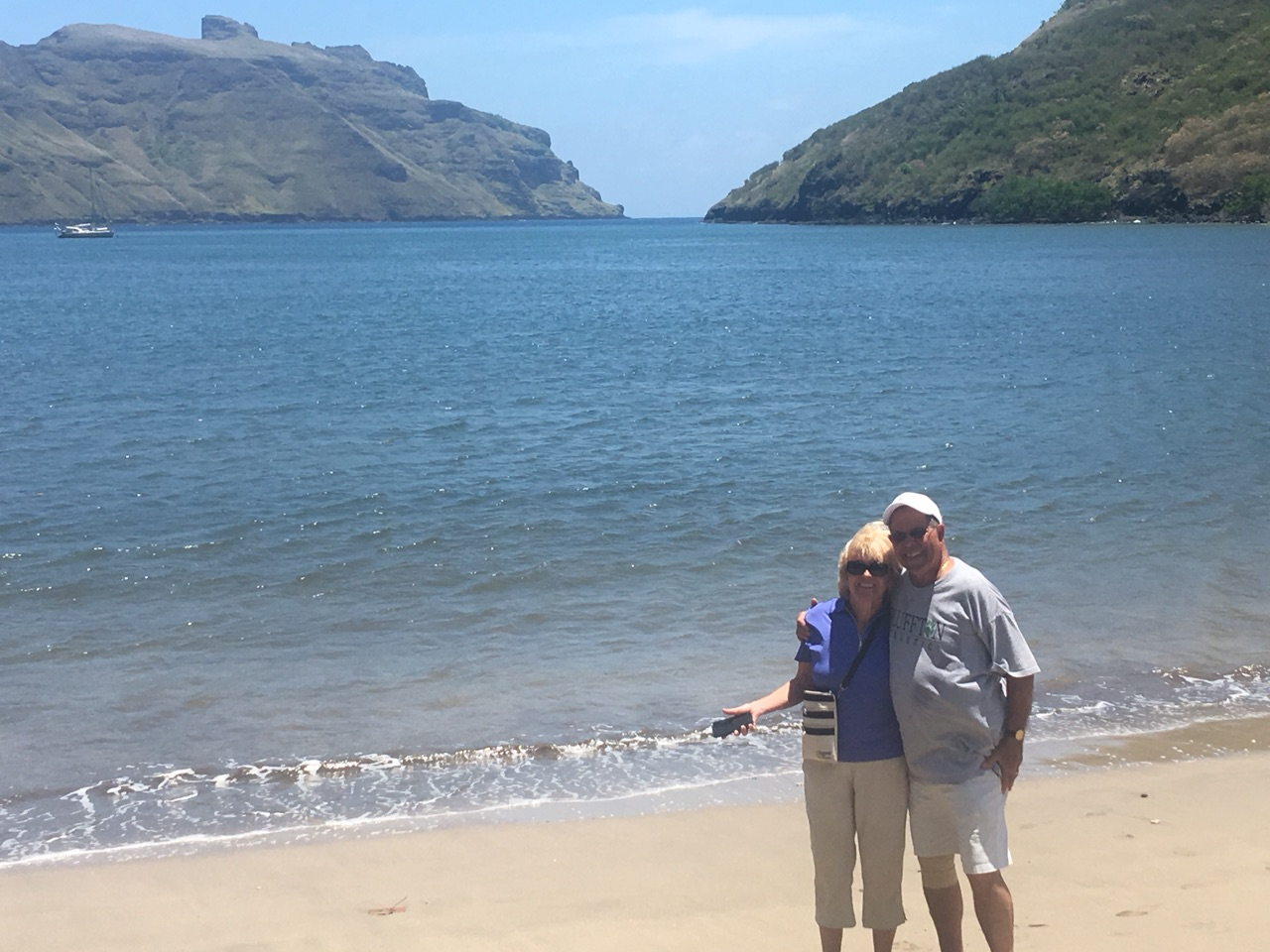 Beach at Nuku Hiva