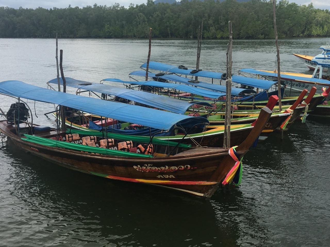 Long boats