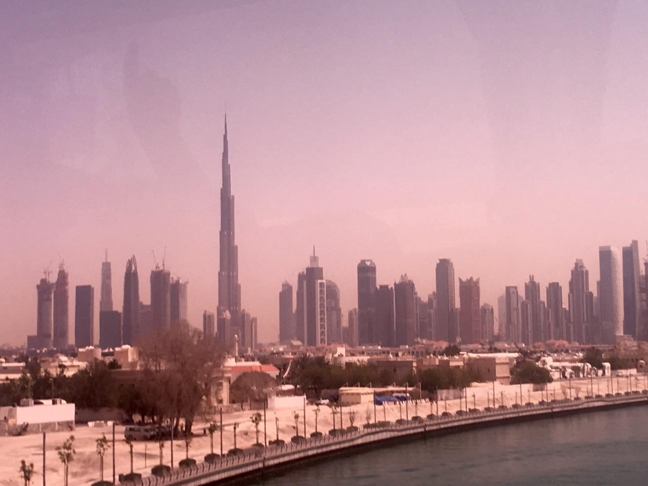 Dubai skyline, tallest building
