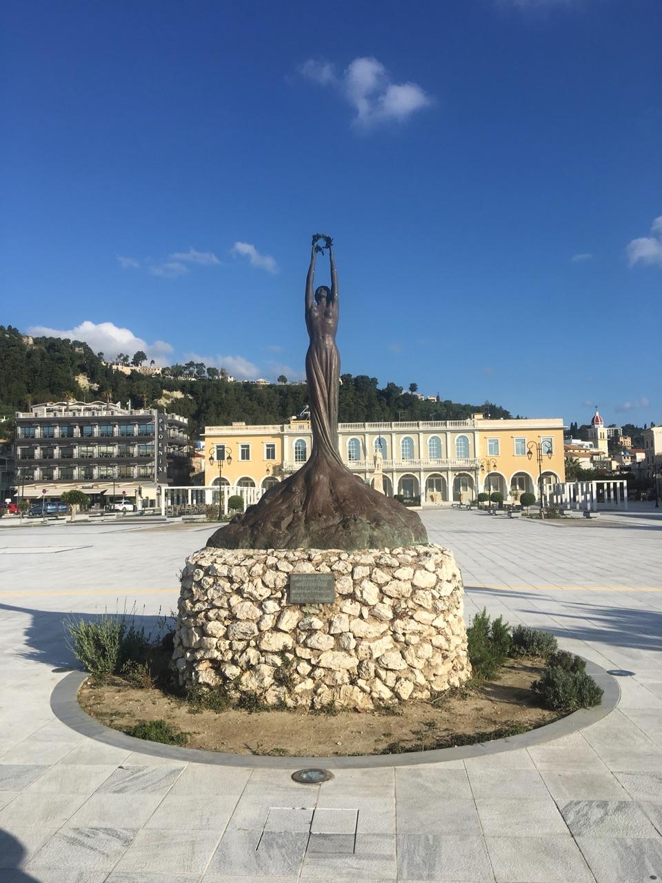 Town square, Zakynthos