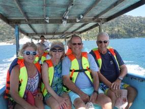 Boat ride Costa Rica Style