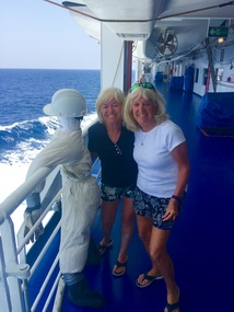 Blonds with one fearless pirate fighter