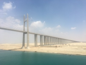 Friendship bridge, Suez canal