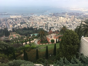 View of Haifa from Mt. Carmel