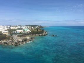 Arriving Bermuda