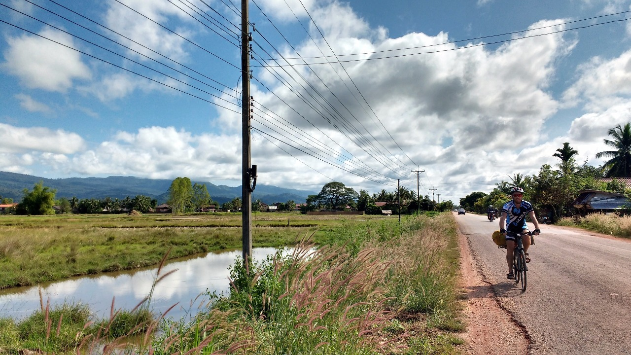 Cycling Laos