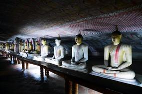 Buddha cave of Dambulla