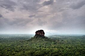 Lion rock from Pidurangula