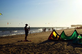 Wrapping up the kite