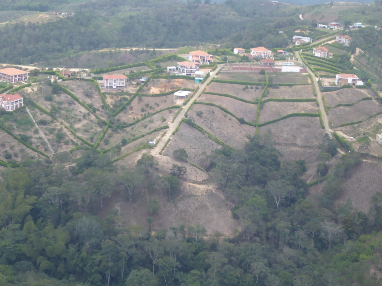 Leaving Bucaramanga