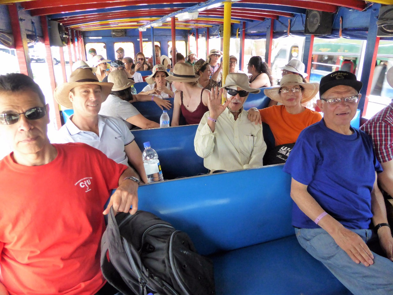 On a Chiva adventure
