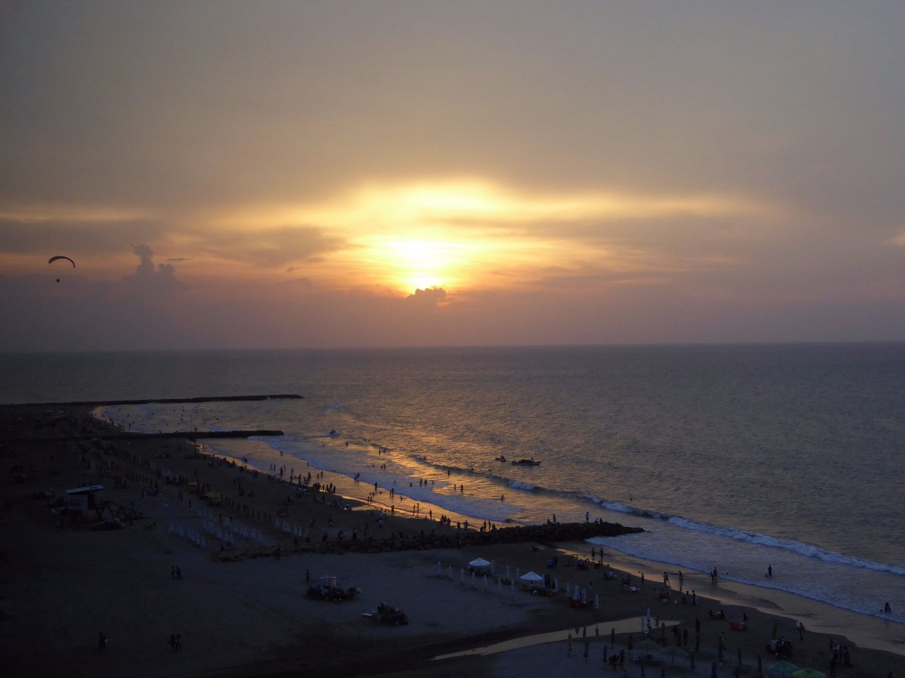 A Good Bye Sunset