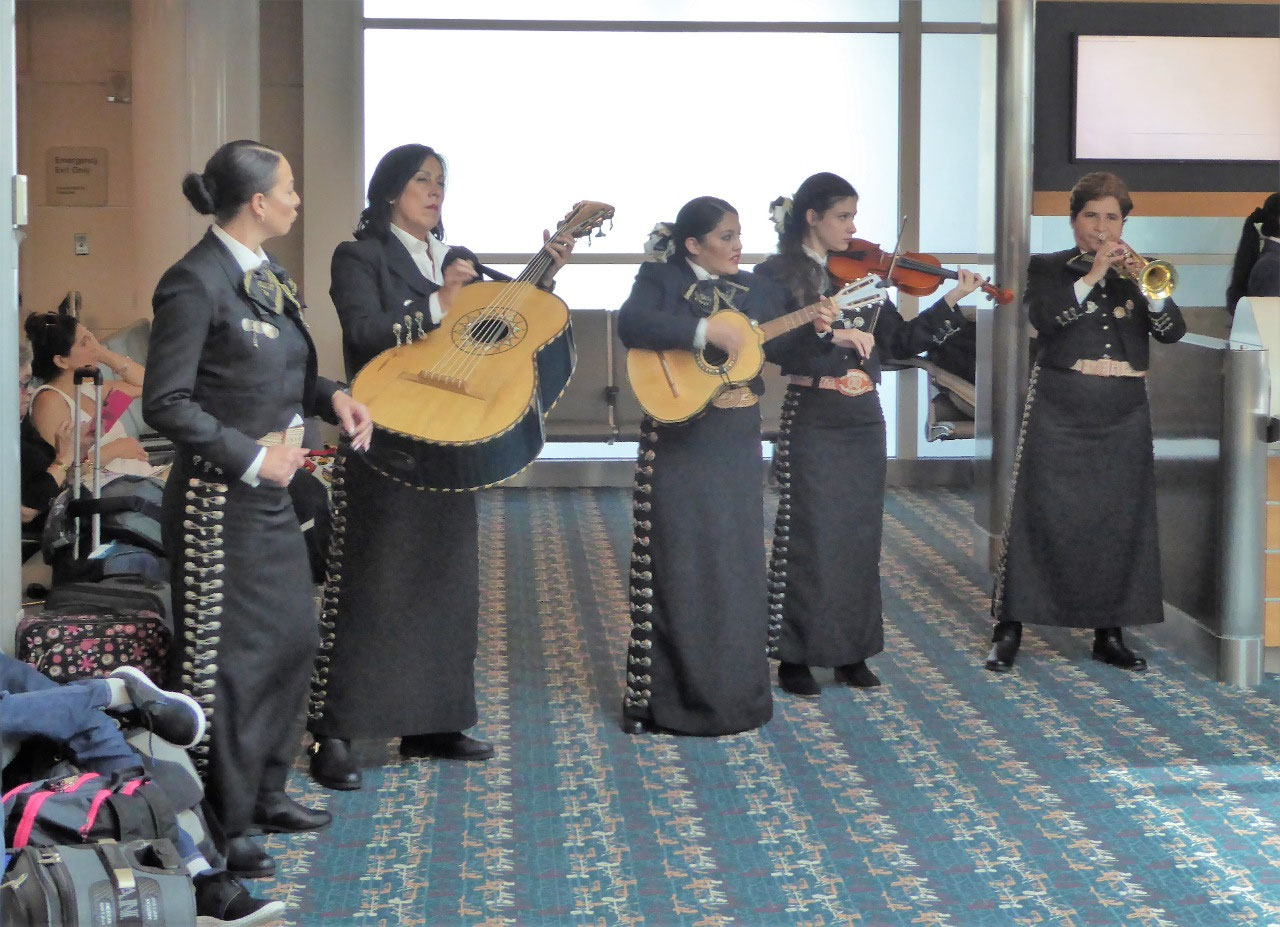 Mariachi Band in Orlando Airport