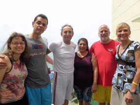 Janet, Jaime, Miguel, Doris, Scott and Gayle