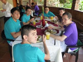 Christian, Cristian, Leo, David, David, Rodolfo