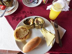 Tamal for breakfast