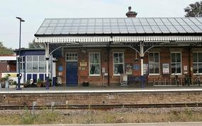 Departure from Stalybridge station
