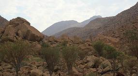 Namibia's highest peak