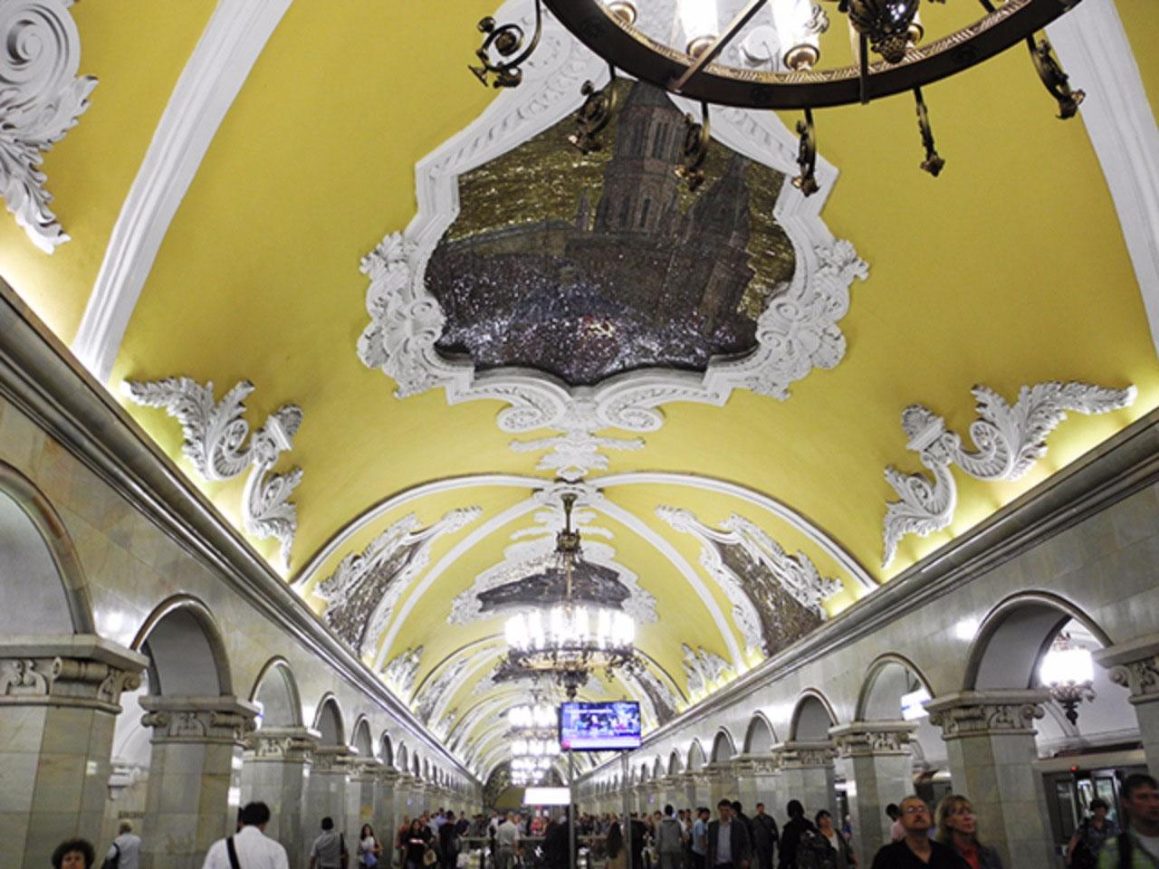 Komsomolskaya station: Russian freedom fight
