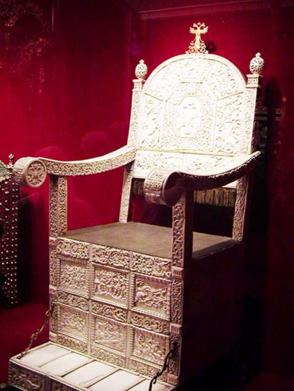 Ivan the Terrible's throne