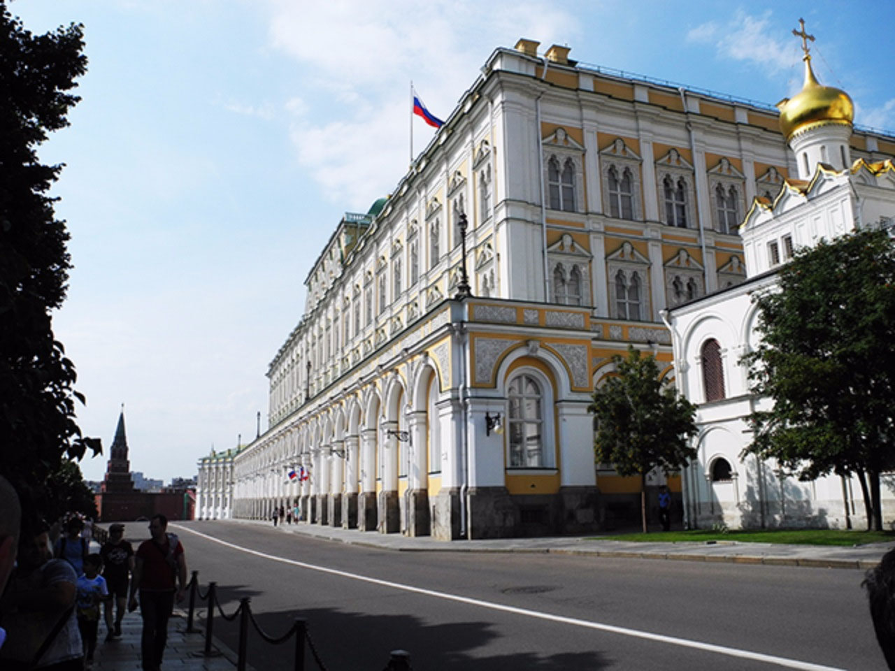 The Armoury is located in the Grand Palace