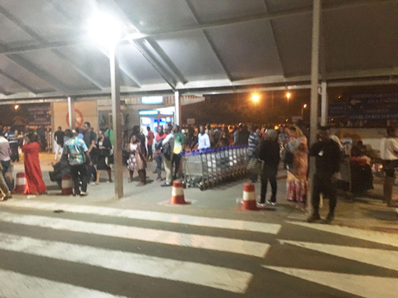 Arrival in Abidjan