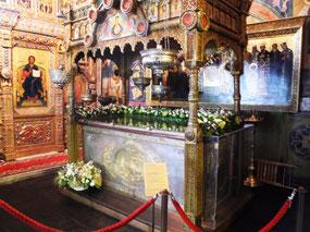 Basil's tomb