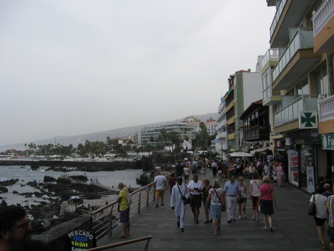 Puerto la Cruz, not a charming place