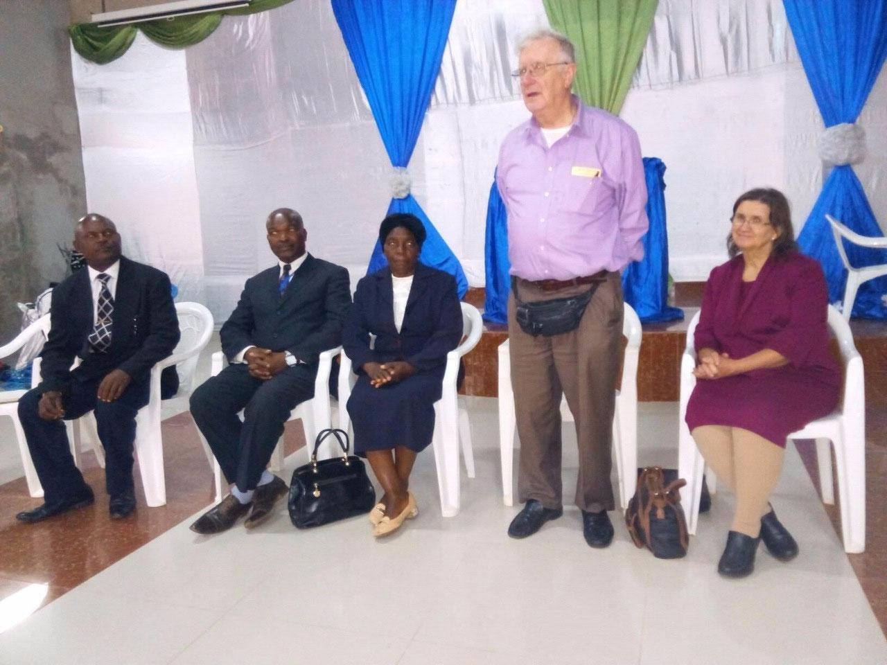 Welcoming presentation in Luanda