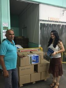The 4000 Boa Novas are ready to ship to Boa Vista