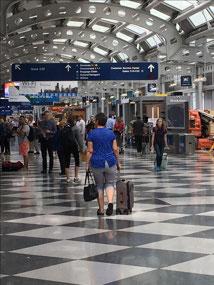 Chicago airport.