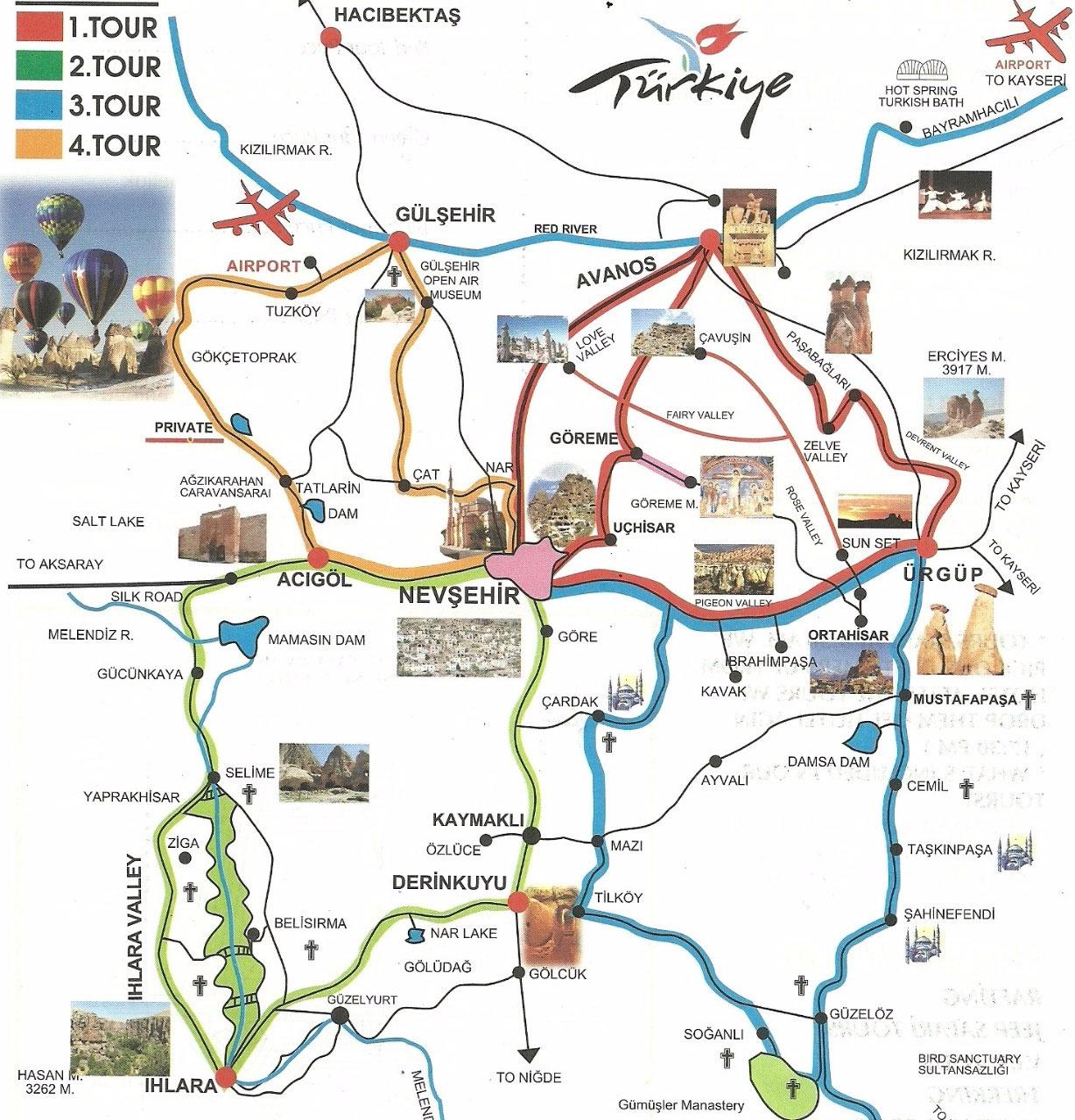 Ilhara Valley and the Green Route on ardahan map, ankara map, dolmabahce palace map, pamukkale map, carpathian mountains map, anatolia map, turkey map, tatev monastery map, kayseri map, lycian sea map, macedonia map, bitlis map, nevsehir pazar map, cilicia map, underground city, mount nemrut, campania map, pontus map, troy map, goreme map, mount ararat, derinkuyu underground city, phthia map, ephesus map,