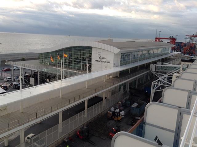 Barcelona Cruise Ship Terminal