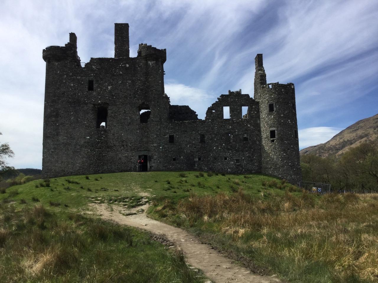 Kilchurn Castle (pronounced Kill-hern)
