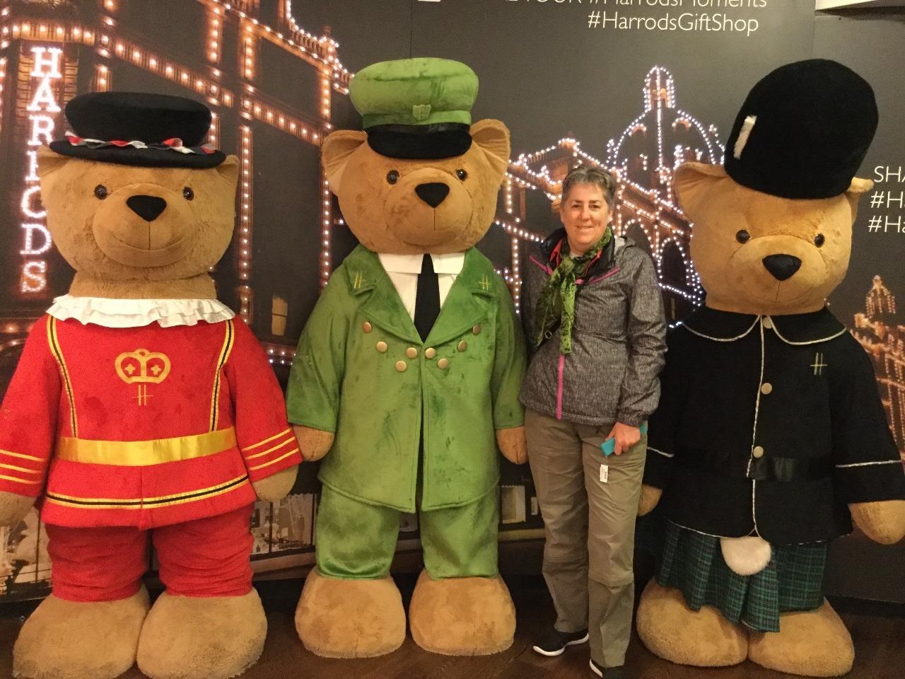 Me and the Harrod's Bears
