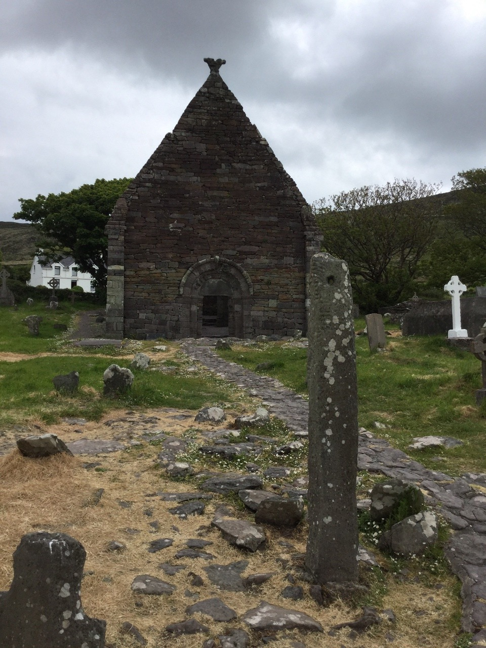 The Contract Stone in front of Kilmalkedar