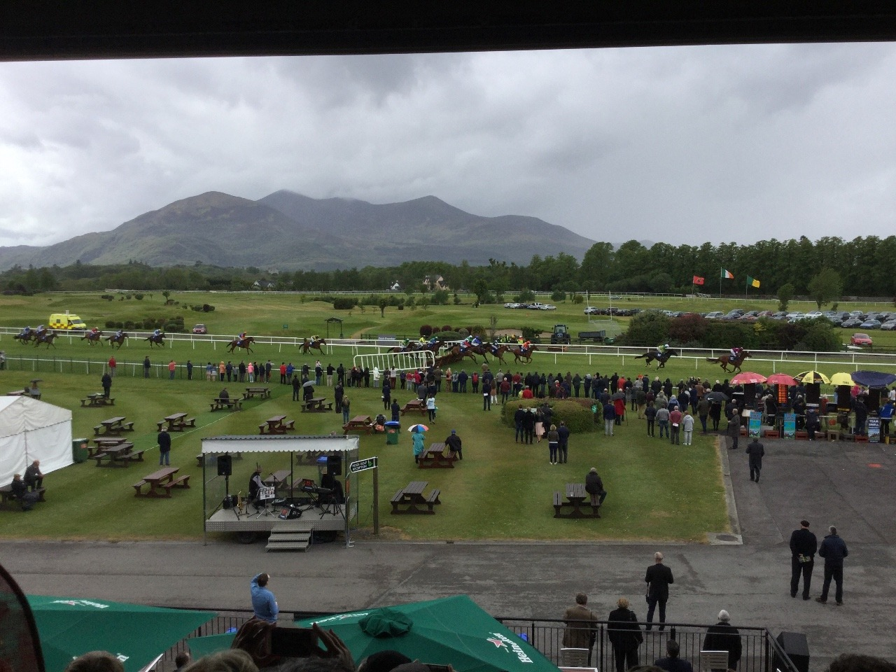 The most beautiful racecourse I've been to.