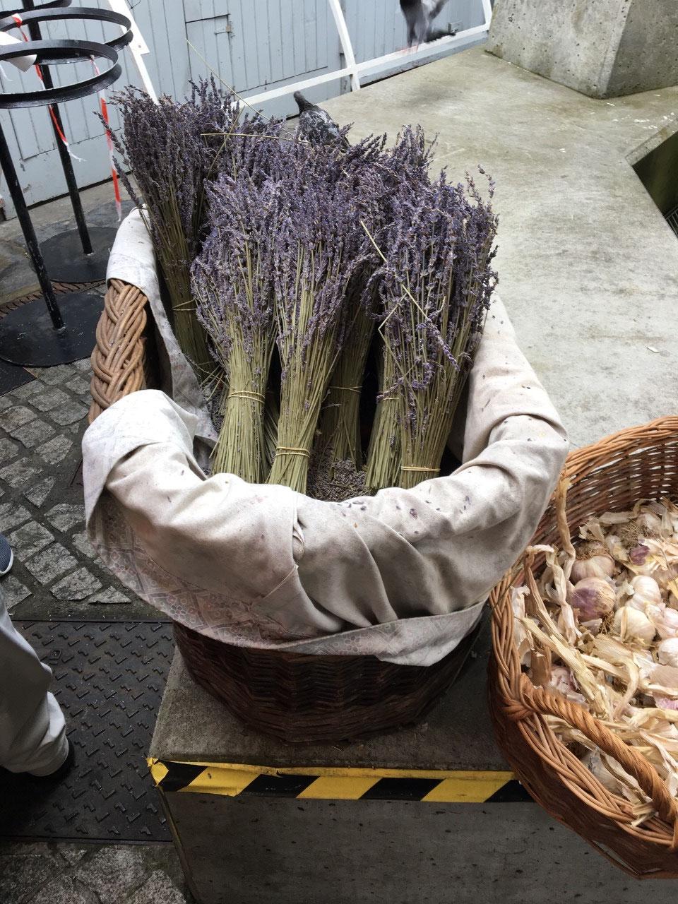 Fresh lavender at the Milk Market
