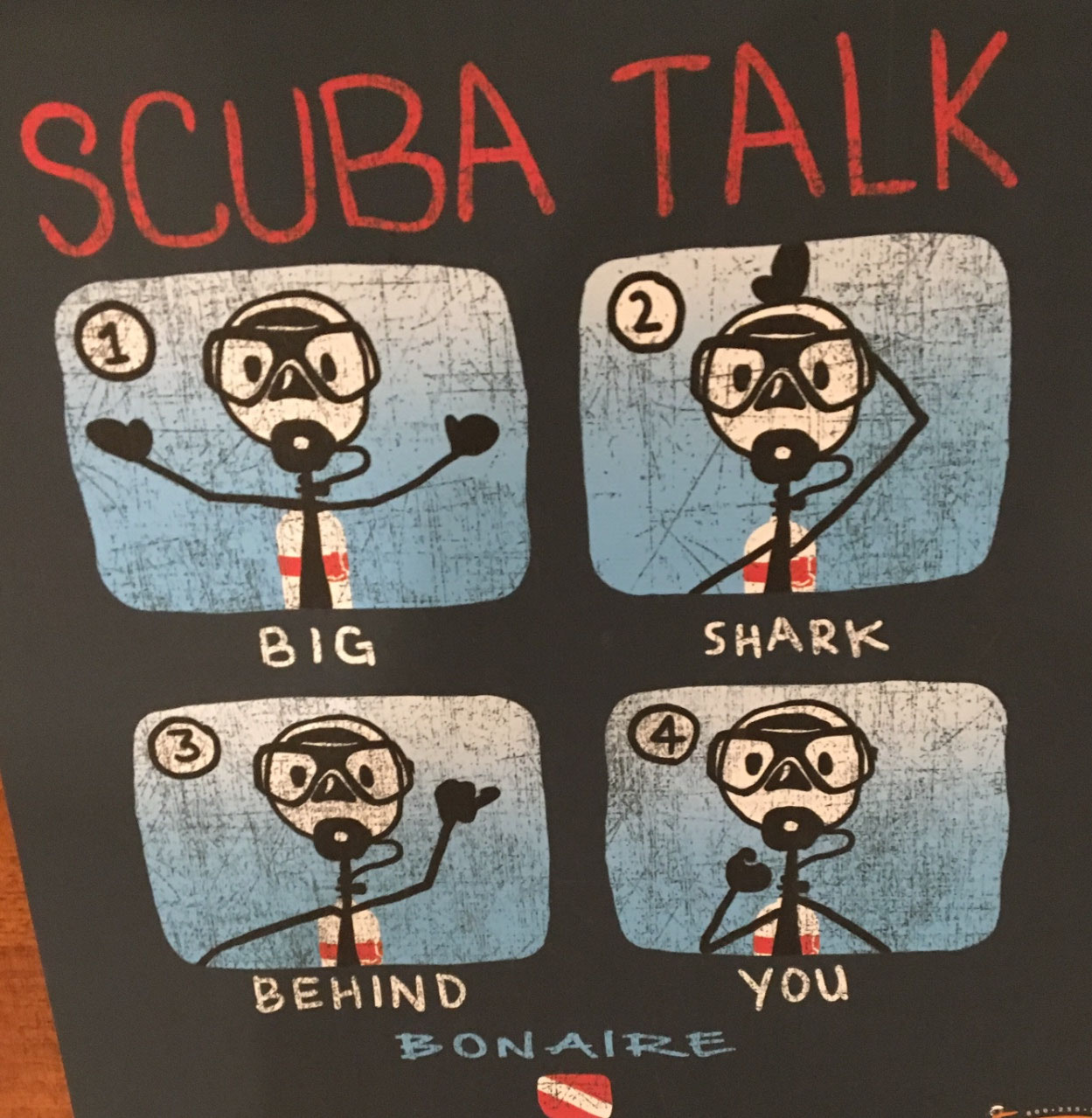Scuba Divers Paradise...this shirt was my fav